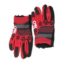 Oakley AUTOMATIC GLOVE Red Line Size S Mens Boys MTB Mountain Bike Gloves