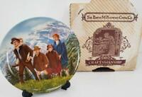 Edwin Knowles The Sound of Music Collector's Plate #8 Original Box+Certificate