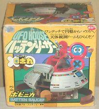 Robot Robomaru Batten House Saucer Chogokin Figure Dolls PC-35 Popy 1983 Rare