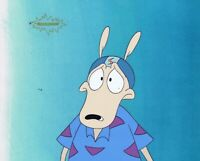 ROCKO'S MODERN LIFE Original Production Cel Cell Animation Art 1990's Helmet