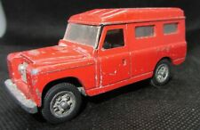 MEBETOYS  LAND ROVER 109 FIRE SERVICE TO RESTORE