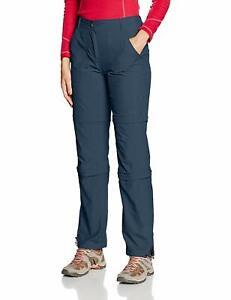 SHEIRA Marinenblau Icepeak Damen Hose Trekkinghose Zip Off 46 Outdoor