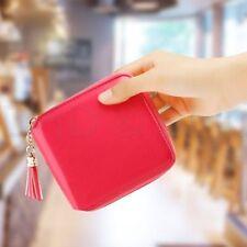 Mini portafoglio da donna rosa