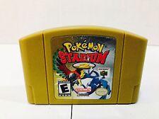 Pokemon Stadium 2 (Nintendo 64, 2001) N64
