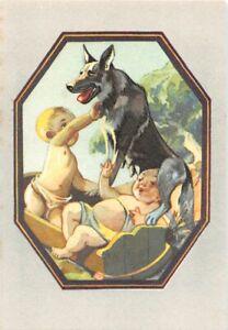 Chromos Blédine Blécao - la Louve de Romulus et Remus