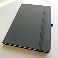 A5 NEW LINED PAGES SOFT COVER NOTEPAD/NOTEBOOK/BULLET JOURNAL - CHARCOAL