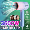 3500W Foldable Mini Hair Dryer Heater Ionic Fast Drying Blower Travel Dryer  R