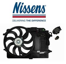 Mini Cooper R50 2002-2003 Engine Cooling Fan Assembly with Shroud Nissens 85124