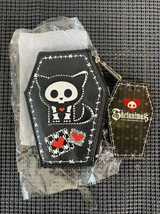 Skelanimals Loungefly Kit Black Wallet Key Chain Coin Bag Pouch - NEW!!
