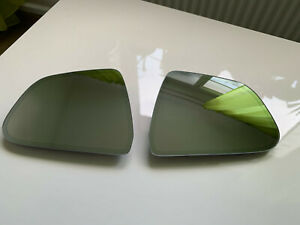 TESLA Model 3 Original LH+RH Mirrors Glass SET with Heating & Dimming , Like New