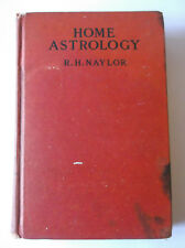 Home Astrology by R. H. Nader  (Lippencott, undated but likely 1930s printing)
