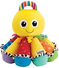 Lamaze Play & Grow Octotunes Musical Baby Kid Developmental Rattle Soft Toy
