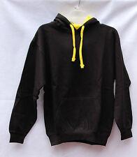 Women's Pacific & Company Hoodie Black/Yellow Size S