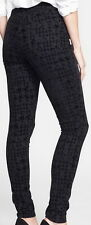 Not Your Daughters Jeans NYDJ Black Houndstooth Super Skinny Jeans Size 12
