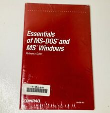 New Sealed - The Essentials Of MS-DOS and Windows Reference Guide - Paperback