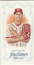 WASHINGTON NATIONALS GIO GONZALEZ 2013 TOPPS ALLEN & GINTER MINI #279