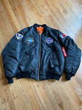 Logic Jacket Official Bomber Coat Adult Large The Incredible True Story Nm