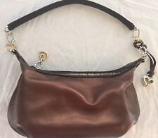 Brighton Handbag Purse Brown Bronze