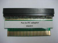 72 to 60 pin Nes games Console Adaptor Famicom to Nintendo Converter Card Fix