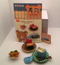 Re-ment Miniature San-x Rilakkuma Sushi Restaurant rement No.05