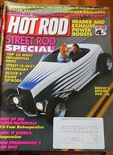 HOT ROD MAGAZINE Sept 1993- Street Rod, Small Block pkgs, header & Exh boosts