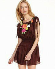 Milly NWT $295  Sequin Embroidered Beach Cover Up Dress  M
