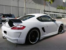 PORSCHE CAYMAN GT REAR SPOILER DECK LID SKIRTS TAIL WING 2005 TO 2012