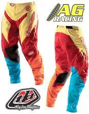 "Troy Lee Designs 2012 GP Air Stinger Pantalón Amarillo Motocross Enduro 34"""