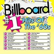 Billboard #1 Hits of the '60s by Various Artists (CD, Apr-2002, Rhino... New