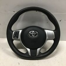 Genuine Toyota Yaris Steering Wheel Vinyl with Audio Controls 2013