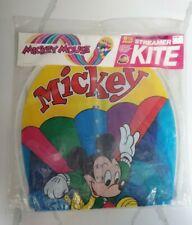 Vintage 1986 Disney Mickey Mouse 6 1/2 Foot Streamer Kite Rare Brand New