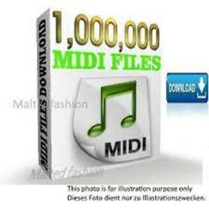 Midi files more then 1 milion 🌟 Studio music 🌟 drumer midi collections🌟
