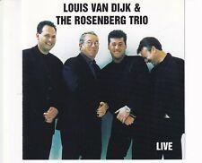 CD LOUIS VAN DIJK & THE ROSENBERG TRIO live 2003 HOLLAND EX- (R3475)