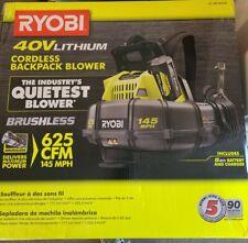 Ryobi 40V Cordless Backpack Blower Ry40440