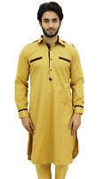 Atasi Chemise Punjabi Style Pathani Homme Ethnique Longue Decontractee-qEY
