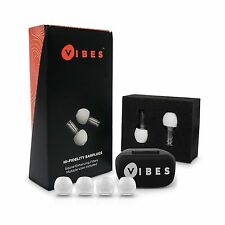 (As Seen on Shark Tank) Vibes Acoustic Filter Ear Plugs - High Fidelity Decib...