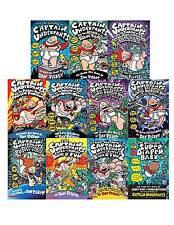 Captain Underpants Collection Set 1-11 Childrens Books Action Adventure Series!!