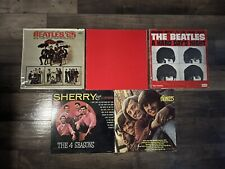 Rock And Pop Vinyl Record Lot Beatles Monkees Billy Joel 4 Seasons Lps