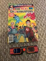 1986 THE REAL GHOSTBUSTERS SPECTACULAR 3-D SPECIAL Premiere Edition 80s Rare