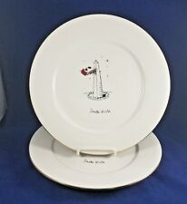 "DAYTON HUDSON AMERICAN COLLECTION - Dinner Plate (Monument) 10 3/4"""" SET OF 2"