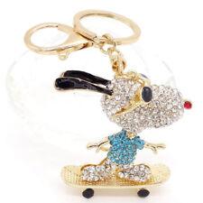 Crystal Rhinestone Keyring Charm Pendant Purse Bag Key Ring Chain Keychain #35
