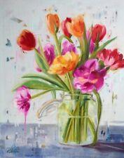 Tulips Ninalee Irani Art Print 16x20