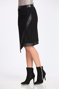 Womens Leather Pencil Wrap Skirt Womens Straight Pencil Leatherette Dress Sarong