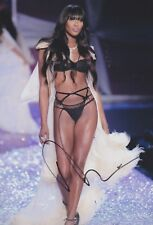 NAOMI CAMPELL Victoria Secret Foto 20x30 Autogramm signiert IN PERSON signed