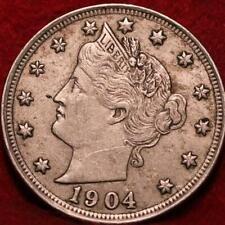 1904 Philadelphia Mint Liberty Nickel