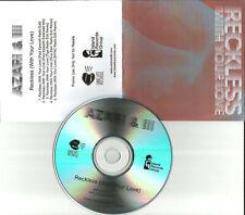 AZARI & III Reckless with your love 5TRX w/ REMIXES & RADIO EDIT PROMO CD single