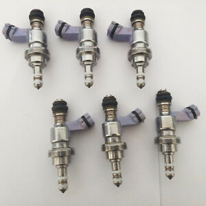 6pcs Fuel Injector for 06-10 Lexus GS450h/IS350/LS600h/GS350/GS460 2325031030