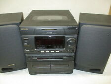 New listing Aiwa Cd Stereo Cassette Receiver System Cx-Na50U Tested and for Parts/Repair. Jr