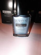 NAIL POLISH AVON METALLIC EFFECTS ARCTIC STEEL
