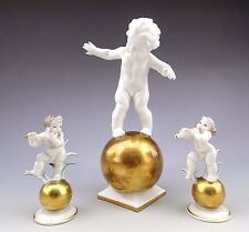 Art Deco Karl Tutter Hutschenreuther Set of 3 Porcelain Figurines
